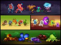 TapArena Online Game Concept Art