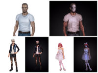 Thriller VR Quest Room Characters Concept Art